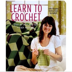 5/$30 Learn to Crochet: Easy Step-by-Step Projects